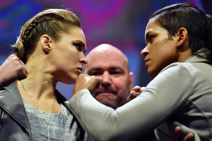 UFC: Amanda Nunes x Ronda Rousey