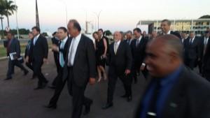 Sola de sapato: governadores fizeram périplo por Brasília