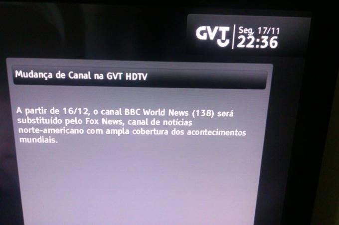 Fox News na GVT