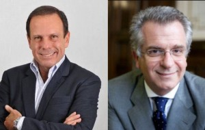Doria e Matarazzo: disputa deve ir parar na nacional