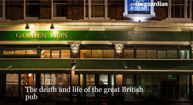 O pub Golden Lion, em Camden, no norte de Londres passou por muitas e boas