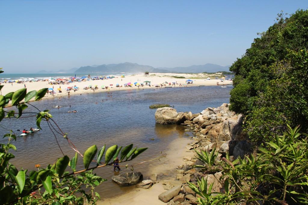 Beach in South Brazil