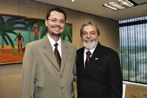 Lula e Halysson: deu errado