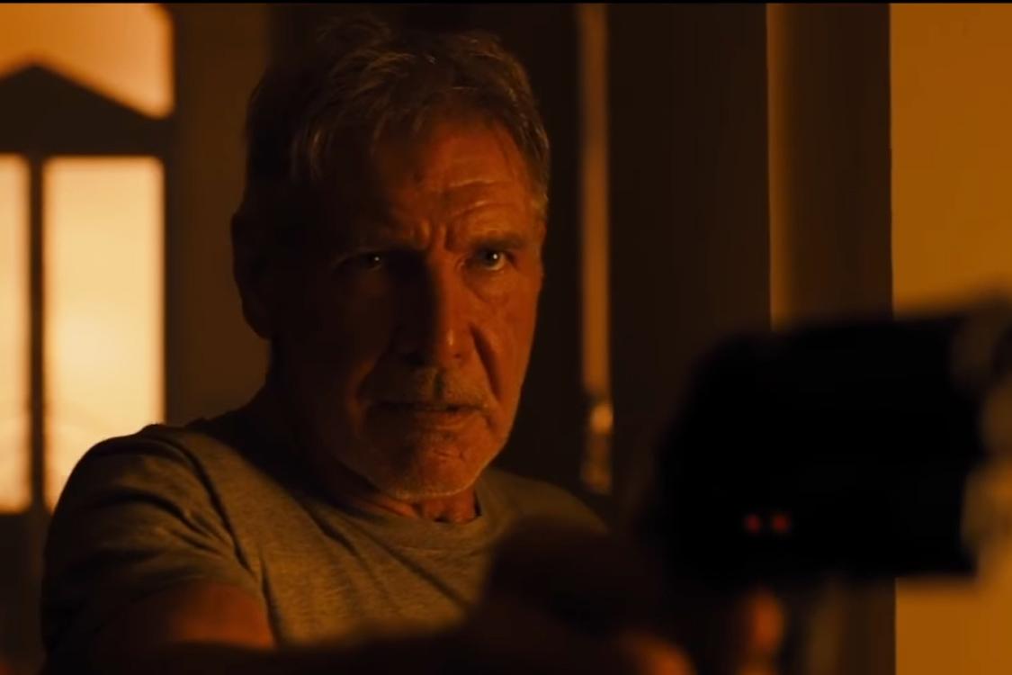 Harrison Ford no teaser de 'Blade Runner 2049'