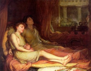 Os irmãos Sono e Morte, pintura do inglês John William Waterhouse