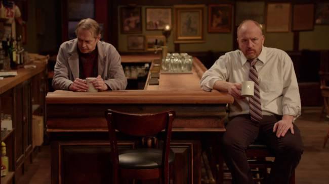 (E-D) Steve Buscemi e Louis C.K. em 'Horace and Pete' (Foto: louisck.net/Divulgação)