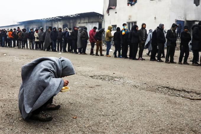 Imagens do dia – Migrantes na Sérvia