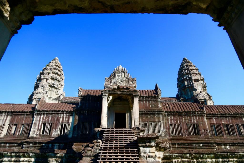 Uma das edificações de Angkor Wat