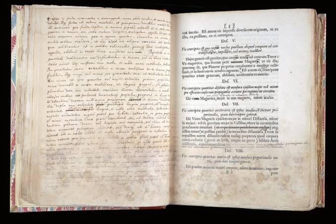 Primeira edição de livro de Isaac Newton irá a leilão