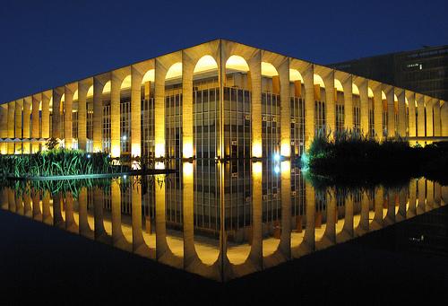 Palácio do Itamaraty: alvo de hackers