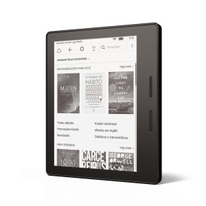 Testamos o novo Kindle Oasis, da Amazon