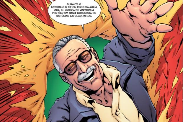 Trecho do livro 'Incrível, Fantástico, Inacreditável: A Biografia em Quadrinhos do Gênio que Criou os Super-Heróis da Marvel'