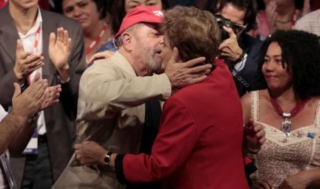 Lula - Dilma - 12 congresso da CUT