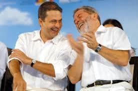 Campos e Lula: sorrisos nunca mais