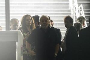 Lula quando foi depor na PF: desta vez seria prisão