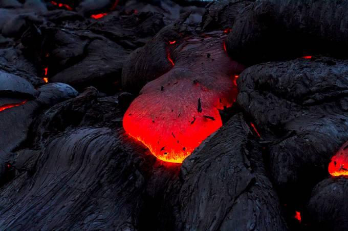 Magma na Península de Kamchatka, Rússia