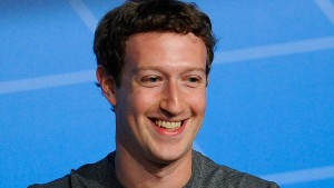BARCELONA, SPAIN - FEBRUARY 24:  Co-Founder, Chairman and CEO of Facebook Mark Zuckerberg  speaks during his keynote conference as part of the first day of the Mobile World Congress 2014 at the Fira Gran Via complex on February 24, 2014 in Barcelona, Spain. The annual Mobile World Congress hosts some of the world's largest communication companies, with many unveiling their latest phones and gadgets. The show runs from February 24 - February 27.  (Photo by David Ramos/Getty Images)
