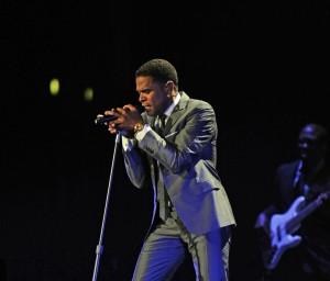 Maxwell concert at Staples Center on June 5, 2010 in Los Angeles, California.  Credito: Juan Ocampo