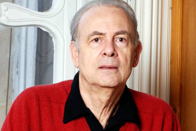 Publicity handout shows French writer Patrick Modiano, who has won the 2014 Nobel Literature Prize