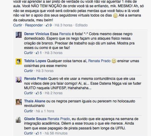 Negro Fernando Holiday é ameaçado