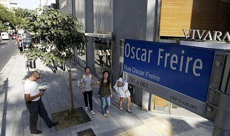 13) A Rua Oscar Freire não tem tudo do melhor e do mais caro