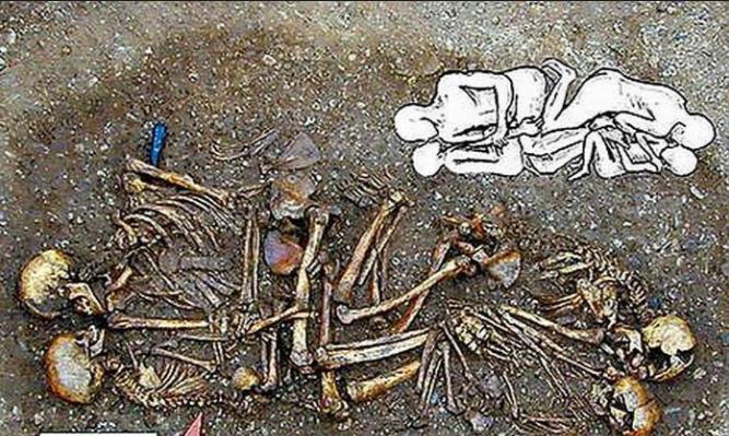 Ossadas da Alemanha: família nuclear há 4600 anos