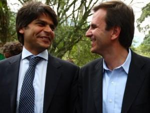 Pedro Paulo e Eduardo Paes: passagem do bastão ameaçada