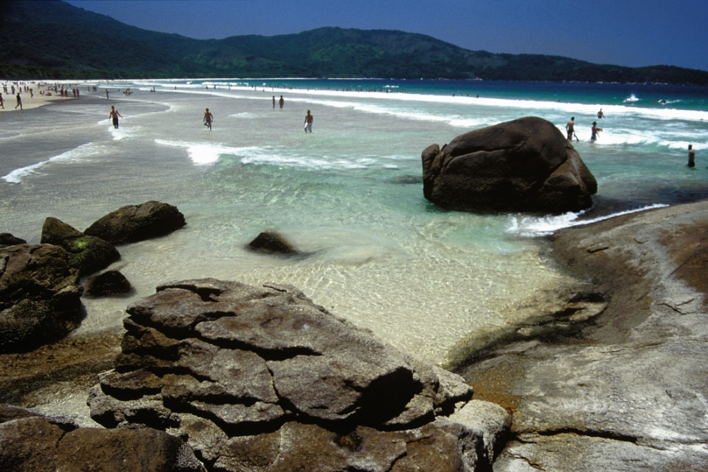 Praia Lopes Mendes, em Ilha Grande.