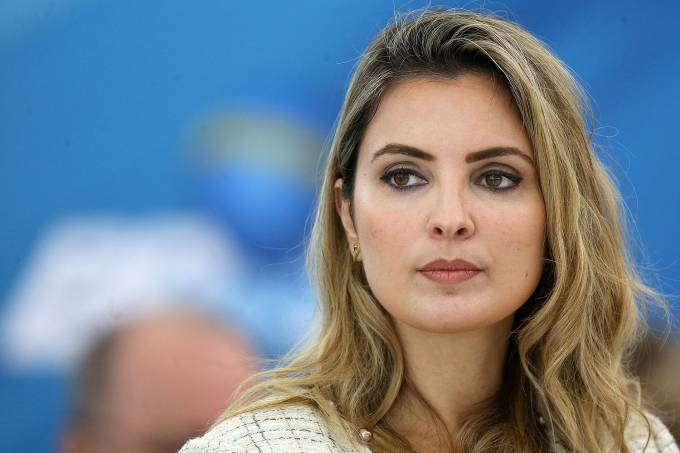 A primeira dama Marcela Temer