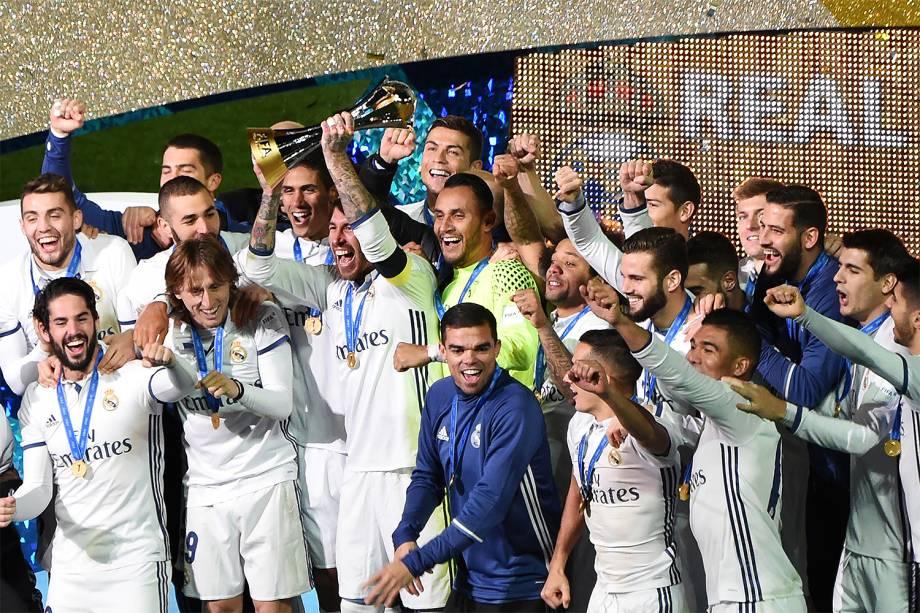 Real Madrid vence o Kashima por 4 a 2 e é campeão do Mundial de Clubes, em Yokohama, no Japão - 18/12/2016