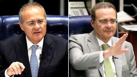Renan Calheiros sem e Renan Calheiros com