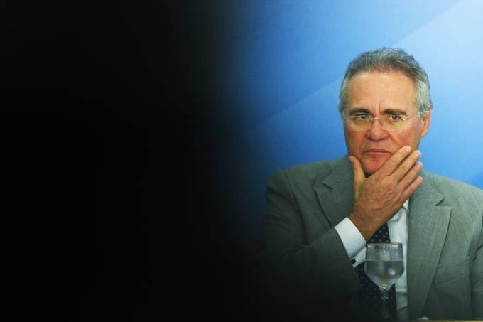 O presidente do Senado Renan Calheiros – 15/12/2016