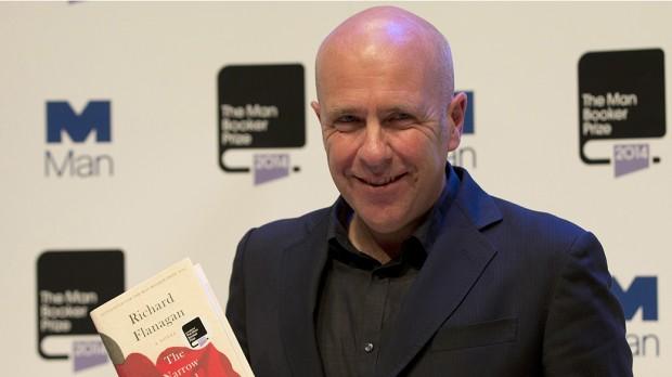 O escritor australiano Richard Flanagan (foto de Alastair Grant / AP)