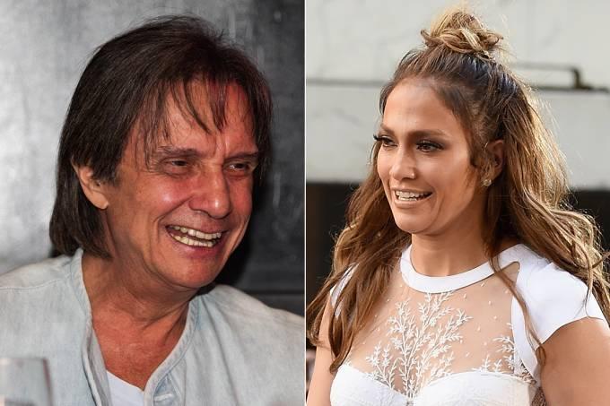 Roberto Carlos e Jenifer Lopez fazem dueto juntos