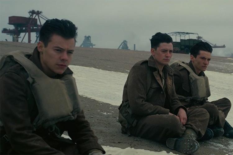 Harry Styles no filme 'Dunkirk'