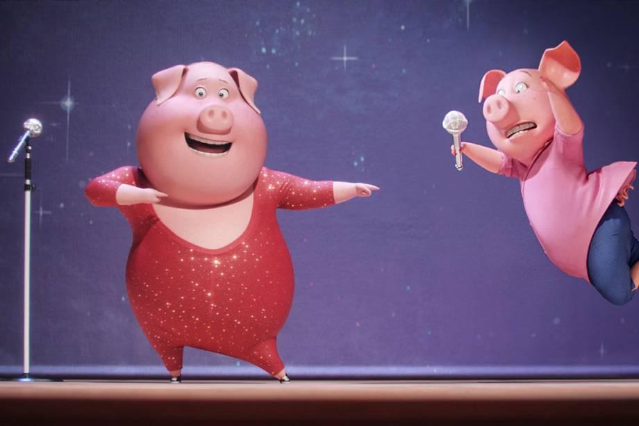 Cena do filme 'Sing - Quem Canta Seus Males Espanta'