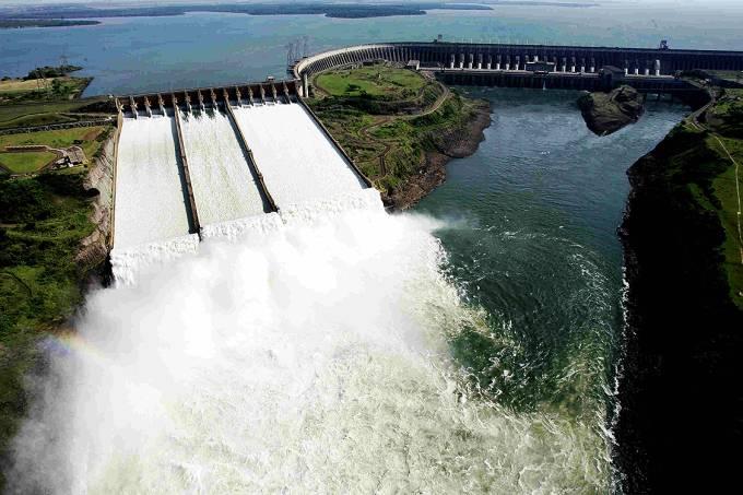 A Usina Hidrelétrica de Itaipu