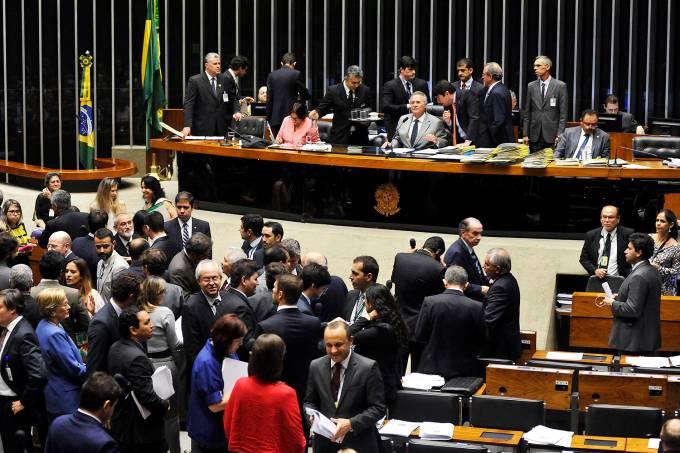 Sessão do Congresso Nacional para análise e votação de vetos presidenciais – 15/12/2016