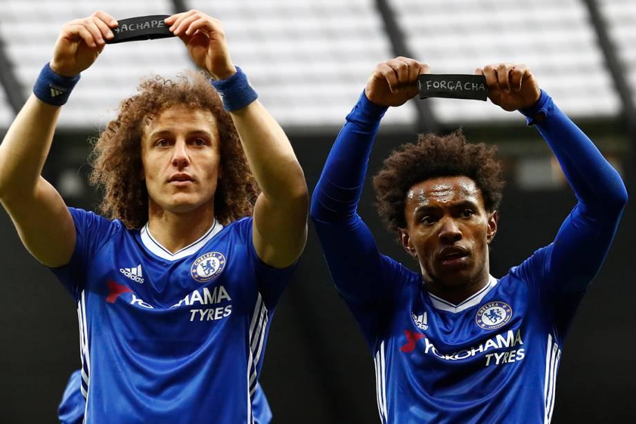 David Luiz e Willian (Chelsea)