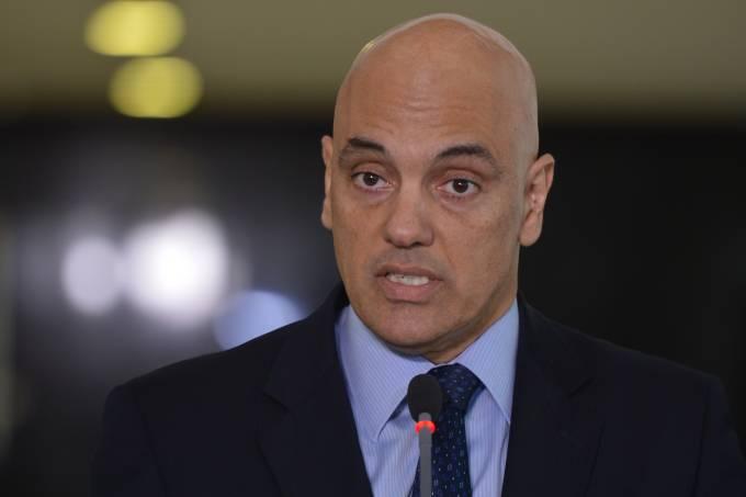 Alexandre de Moraes fala com a imprensa sobre a segurança nas Olimpiadas