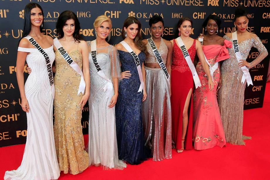 Raissa Santana disputa o Miss Universo, nas Filipinas - 29/01/2017