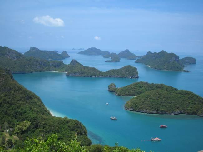 Ang Thong, na Tailândia