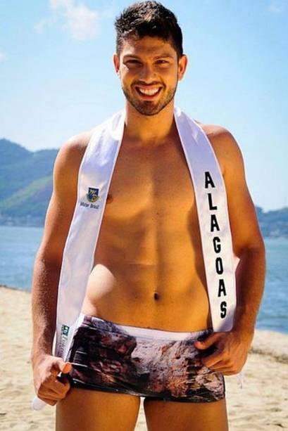 Luiz Felipe, do 'BBB17', foi Mister Alagoas