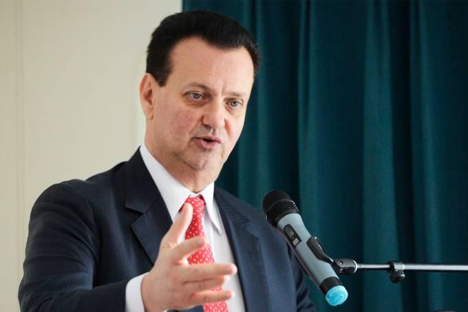 O ministro da Ciência e Tecnologia, Gilberto Kassab