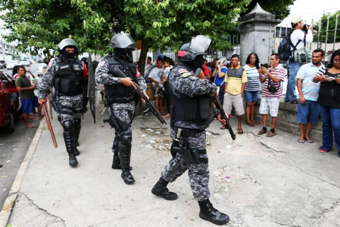 Rebelião na Cadeia Pública Raimundo Vidal Pessoa, em Manaus (AM)