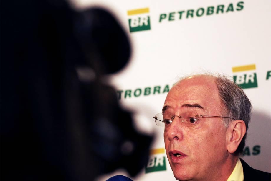 O presidente da Petrobras, Pedro Parente, concede entrevista coletiva no Rio de Janeiro (RJ) - 11/01/2017