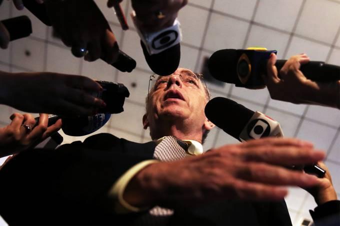 O presidente da Petrobras, Pedro Parente