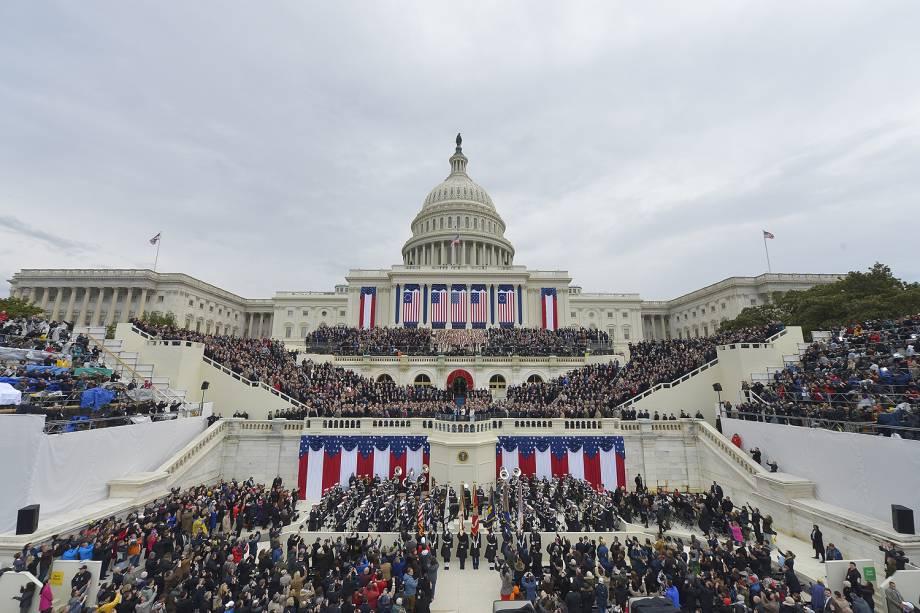 O presidente eleito dos Estados Unidos, Donald Trump, toma posse nesta sexta-feira (20), em Washington