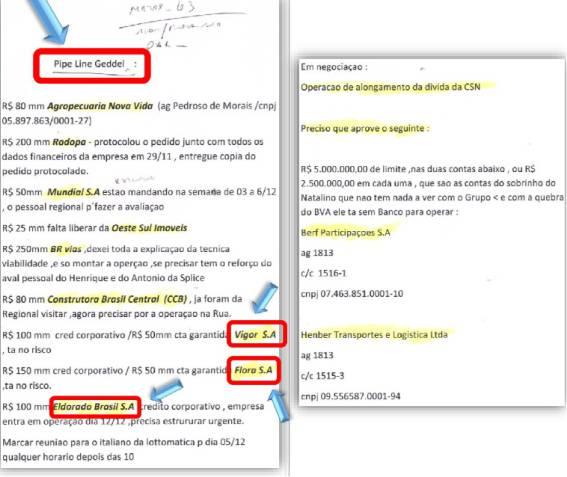 Documento encontrado pela PF: Geddel atuava em operações da Caixa