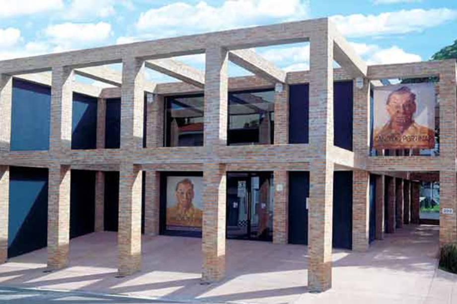 Galeria de arte Pinakotheke Cultural, no Morumbi, em São Paulo